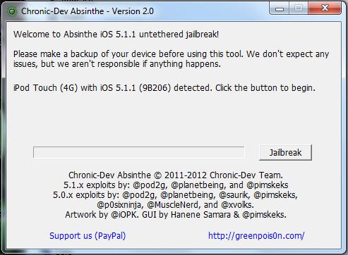 Как взломать iOS 5.1.1 при помощи Absinthe 2.0