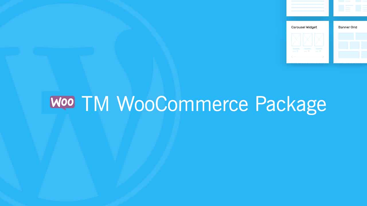 TM WooCommerce Package